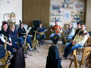 Workshop für Saxophone