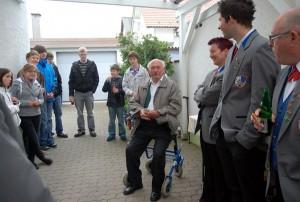 Geburtstag Ehrenvorstand Franz Becker
